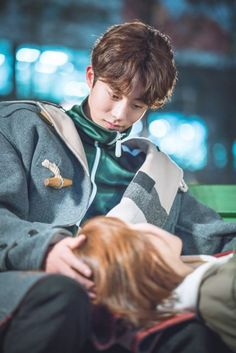 "Heart-Stopping ""Weightlifting Fairy Kim Bok Joo"" Stills Weightlifting Fairy Kim Bok Joo Stills, Weightlifting Kim Bok Joo, Nam Joo Hyuk Lee Sung Kyung, Jong Hyuk, Weighlifting Fairy Kim Bok Joo, Kdrama, Joon Hyung, Two Worlds, Kim Book"