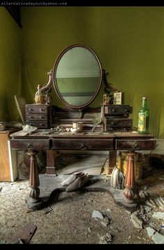 The Green Room. I think this is Berkyn Manor, UK