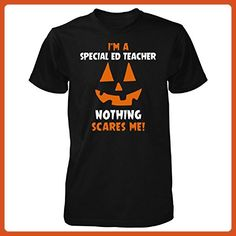 I'm A Special Ed Teacher Nothing Scares Me Halloween Gift - Unisex Tshirt - Careers professions shirts (*Partner-Link)