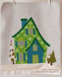 easypatchwork: welcome to the north pole sew-a-long