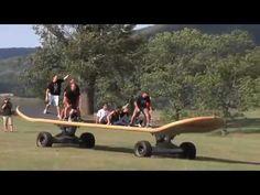Woodward Camp - World's Largest Skateboard!