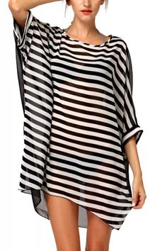 Striped Chiffon ~