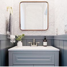 A guide to the best paint colors to give your bathroom a makeover, including the dark gray paint Irony by Clare. Bad Inspiration, Bathroom Inspiration, Bathroom Inspo, Bathroom Ideas, Downstairs Bathroom, Bath Ideas, Master Bathroom, Bathroom Renos, Bathroom Faucets