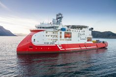 Ulstein Ice Class IMR Vessel: Seven Viking vessel, designed for operations in the harshest environments is being unveiled and named at a ceremony in Stavanger, Norway, by Subsea 7, Eidesvik Offshore and Ulstein today, 30 January 2013.