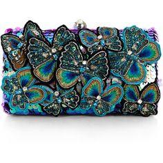 Accessorize Estuche mariposa Belle bolso de embrague