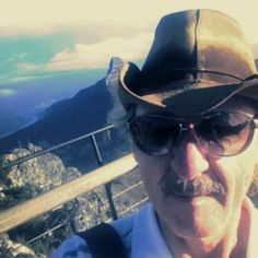 Top of Table Mountain after a hard climb....