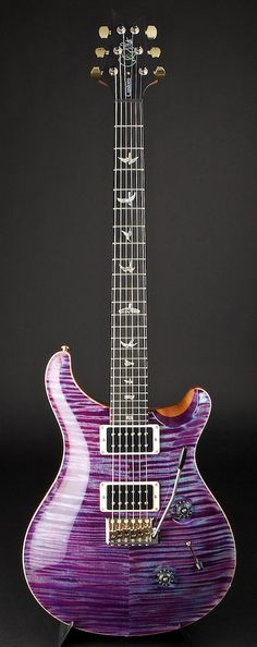 PRS Artist Package Custom 24 Violet Pattern Thin Hybrid Hardware | World Guitars