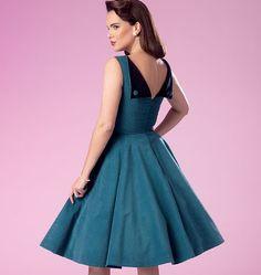 B6094, Misses' Dress