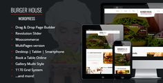 BurgerHouse — Restaurant Wordpress Theme