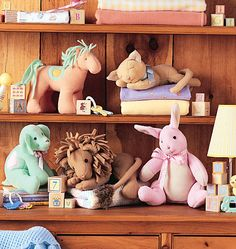 stuffed animals sewing patterns #diy