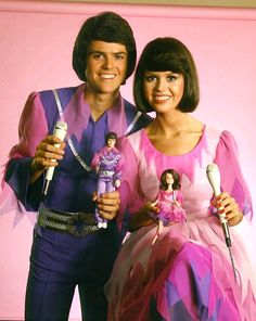 Unremarkable yet too crazy to be forgettable were Donnie and Marie Osmond