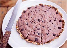 Vegan Gluten Free No Bake Chocolate Pie | Calm Mind Busy Body