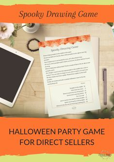 Themes are the best way to get (repeat) party bookings because your events will always be different and never boring. Halloween is a great opportunity for a themed party. Grab this great game for your direct sales parties and have some fun with it! Direct Sales Games, Direct Sales Party, Halloween Party Themes, Halloween Fun, Body Shop At Home, Facebook Party, Drawing Games, Thirty One Gifts, Themed Parties