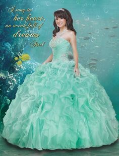 Have an Under the Sea Quinceanera