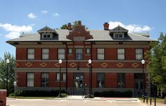 texas pacific railroad depot by Exquisitely Bored in Nacogdoches, via Flickr