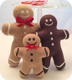 In the Hoop Gingerbread Softies Set | Craftsy