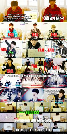 Exo fail as one Exo succeed in one In the end they are one  #exo #showtime