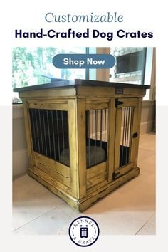 Looking for the perfect kennel for your furry friend? At Kennel and Crate, all our kennels are hand-crafted and customizable to fit your needs. Dog Lover Quotes, Dog Quotes, Crate Training, Training Your Dog, Tattoos For Dog Lovers, Happy Birthday Dog, Dog Spaces, Dog Kennels, Dog Furniture