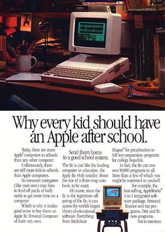 Apple IIc advertisement