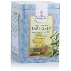 The East India Company The Staunton Earl Grey Leaf Tea (125g) (206.975 IDR) ❤ liked on Polyvore featuring home and kitchen & dining
