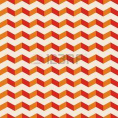 アステカ シェブロン暗いベクトル シームレスなパターン、テクスチャまたは赤およびオレンジ ジグザグをモチーフにした背景。ウェブサイト、ブログ、デスクトップ壁紙、web デザインのための抽象的な装飾