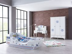 South Africa's largest and exclusive Kids Car Beds reseller since store for Baby & Kids Furniture, Bedding , Decor, Accessories & Cilek Range- Free Nationwide Delivery over Pirate Ship Bed, Kids Furniture, Furniture Design, Kids Car Bed, Minimalist Fashion, Minimalist Style, Baby Kids, Toddler Bed, Bedroom