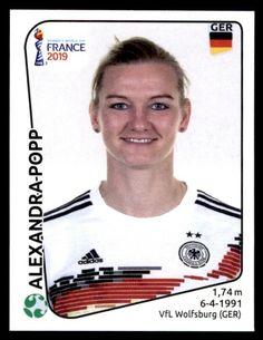 Deutschland Panini Frauen WM 2019 Sticker 117 Alexandra Popp