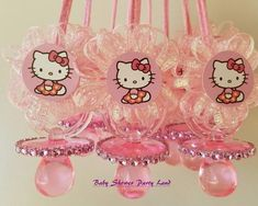 Hello Kitty Baby Shower, Hello Kitty Theme Party, Hello Kitty Themes, Hello Kitty Birthday, Kitty Party, Baby Shower Parties, Baby Shower Themes, Baby Shower Decorations, Baby Showers