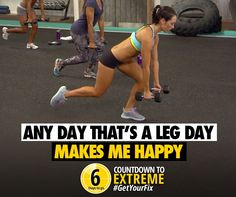 Resistance training + crazy cardio burn + leg focus = the hardest 30 minutes of your day.