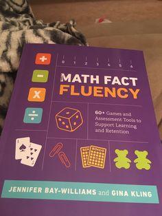 Math Fact Fluency, Teacher Books, Math Facts, Learning, Teaching, Studying