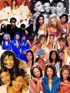 Mode Hip Hop, Hip Hop And R&b, Afro, Old School Music, Black Girl Aesthetic, Celebrity Wallpapers, Girl Bands, Soul Music, Female Singers