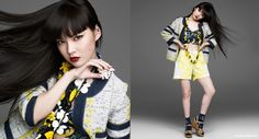 SUPER ANNA SUI Vol.6公開 Leslie Kee, Anna Sui, Japanese Fashion, Fashion Models, Muse, My Style, Hair, Photography, Women