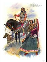 STEPPE  Scythian King and queen by saudi6666