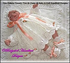 "FREE Rosebuds and Butterflies 16-18"" doll/newborn baby"