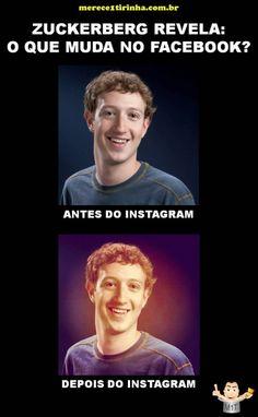 Zuckerberg revela: O que muda no Facebook com o Instagram? Merece 1 Tirinha!