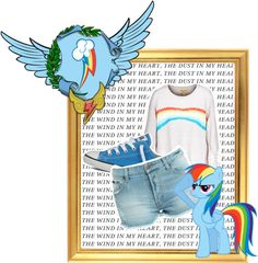 Rainbow Dash (My Little Pony Friendship is Magic) Inspired Outfit