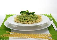 "Food and Cook by trotamundos » FUSILLI LUNGUI ""CREMA DI BASILLICO"""