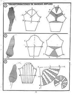 Detailing quantum way, detailing quantum types of dresses, with detailed quantum Alpetronat Techniques Couture, Sewing Techniques, Pattern Cutting, Pattern Making, Sewing Clothes, Diy Clothes, Clothing Patterns, Sewing Patterns, Sewing Sleeves