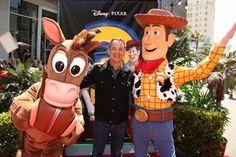 *BULLSEYE, TOM HANKS & WOODY ~ Toy Story 3, 2010