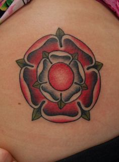 British Rose Tatoo
