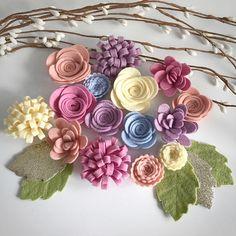 Mezcla de calcáreo flor fieltro