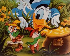 donald duck chip and dale cartoon - Google Search