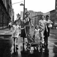 Vivian Meier, New York, 1954