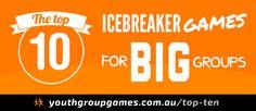 Top Ten Icebreaker Games for Big Groups