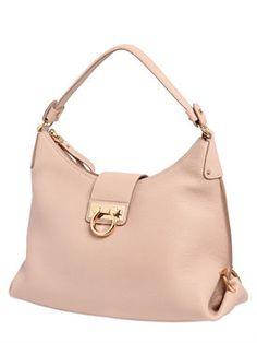 """salvatore ferragamo - женщины - сумки на ремне - сумка """"fanisa"""" из зернистой кожи"""