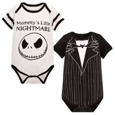 Jack Skellington Bodysuit for Infants -- 2-Pc. | Bodysuits | Disney Store