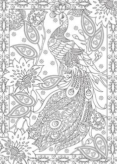 Fox Adult Art Coloring Page Color Pinterest Foxes