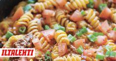 Italianpata on yksi parhaista jauheliha- ja pastaruoista.