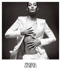 Prabal Gurung SS 2013 Ad Campaign - Joan Smalls - Daniel Jackson - good idea of the different poses but always the same expression of the model Joan Smalls, Daniel Jackson, Fashion Advertising, Advertising Campaign, Ads, Editorial Photography, Fashion Photography, V Magazine, Magazine Covers