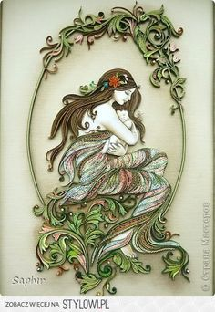 Picture, pictures, graphic Quilling: TENDERNESS paper .… na Stylowi.pl